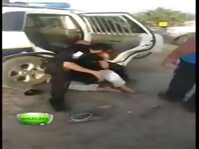 israeli police brutality
