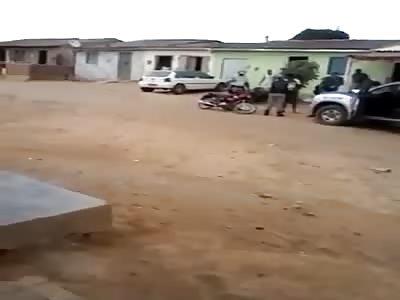 police catch moto thief