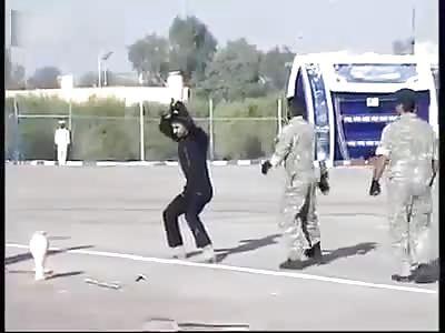 Iran Army Embarrassing Martial Arts Fail