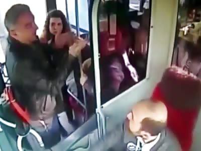 Slighted Bus Passenger Beats Up Driver