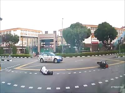Dangerous Bike Accident