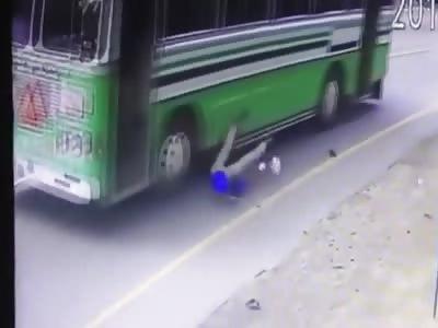Impatient Bus Passenger...