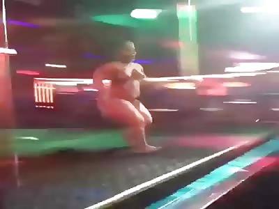 fucking crazy midget stripper