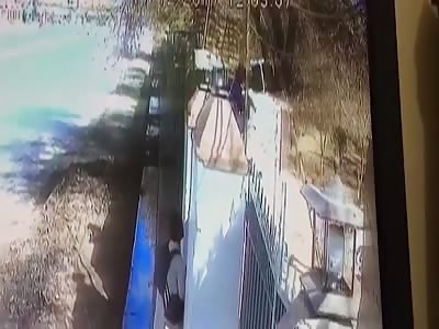 CCTV captures horrifying attack on Pakistani Christians