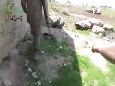 The rebels have killed 30 Assad forces in the village