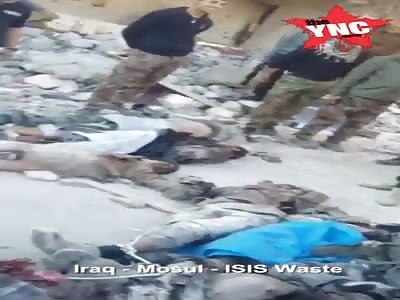 IRAQ-MOSUL ISIS WASTE