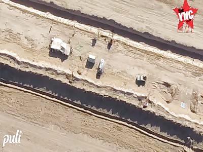 Syrian-Iraqi border drone attack