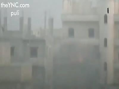 ATGM hits YPG in Raqqa City.