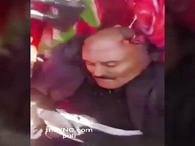 Yemen's ex-president Saleh was killed near Sanaa today.