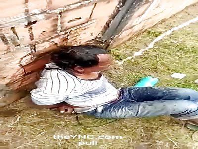 thief receives his punishment
