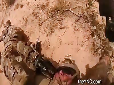 Khilafa soldiers ambush US soldiers near the artificial borders of Niger and Mali