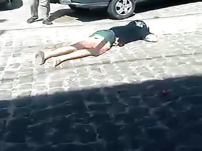 The ex-prisoner is shot dead near the hospital