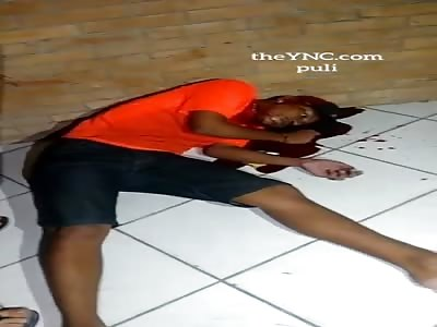 Black Man Killed