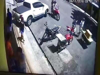 vigilante shoots robbers