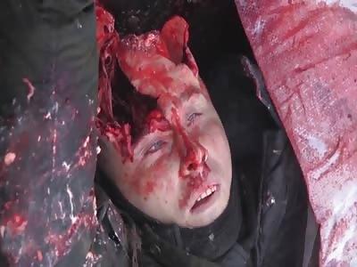 Dead soldiers in ukrania
