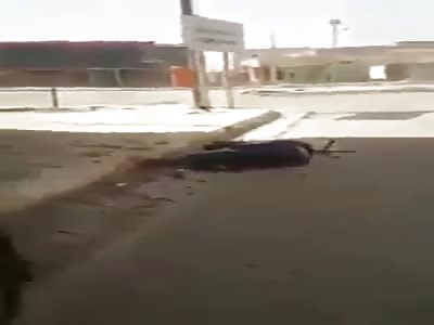 Isis sniper head shot