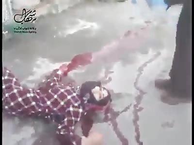 Palestinian prostitute shot