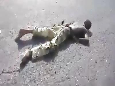 Terrorists convoy              killed