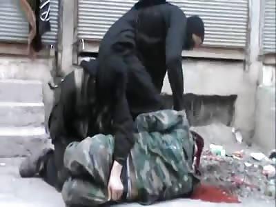 isis kill man in Deir Ez-Zor