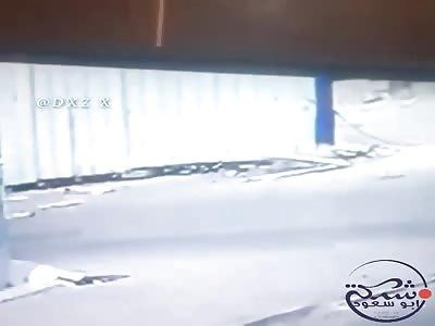 Man fell off a building high