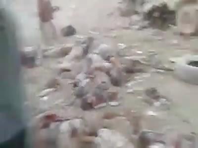 Car bomb isis detonate