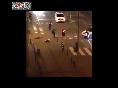 Netherland police shot unarmed man