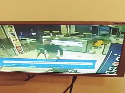 Man shot coldly