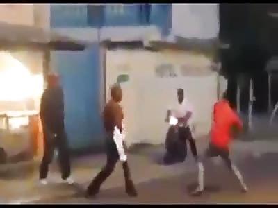 man killed by machete