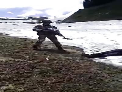 India army kill terrorist (VIDEO 1)