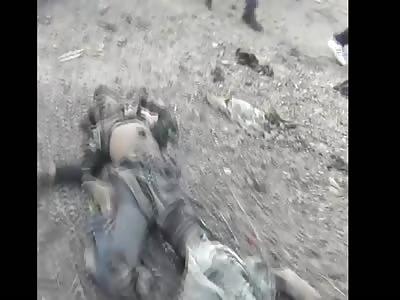 Airstrike by bashar