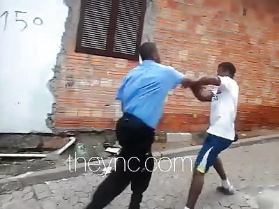 vigilante young kills in a fatal blow fight