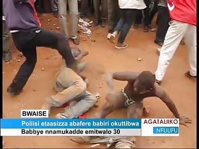 2 brutally beaten man