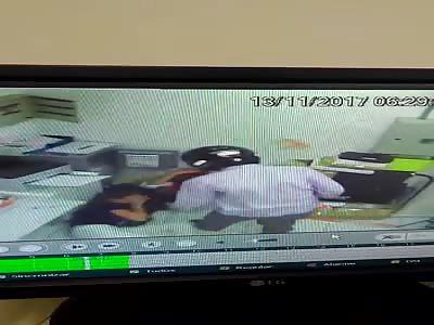 Shock: Victims Beaten by Burglar