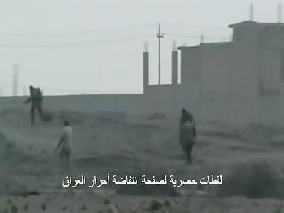 soldiers killed by machine gun