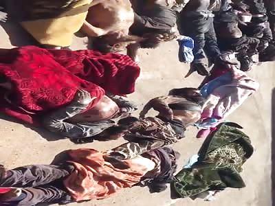 Massacre By Haftar Militants In Libya