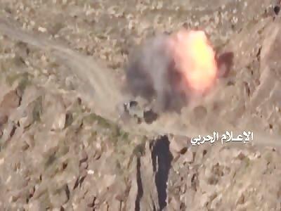 Isis rocket launcher knocks down car