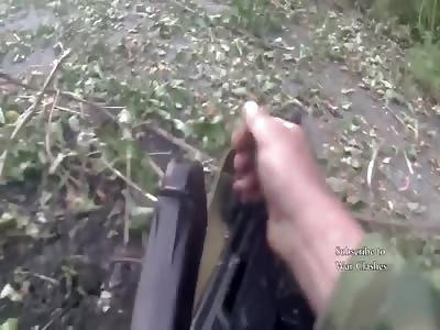 Helmet Cam Combat Footage
