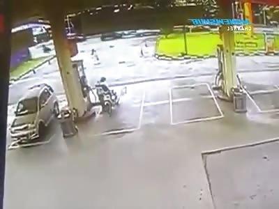 thieves dragged woman