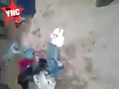 firemen and policemen beat up innocent citizens