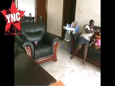 (Repost)Babysitter Beats Child To Death