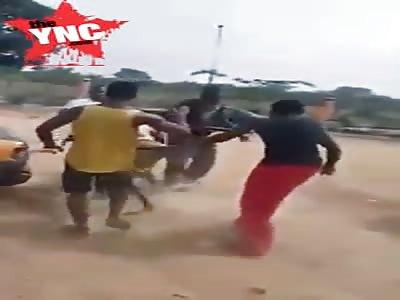 Taxi driver beaten