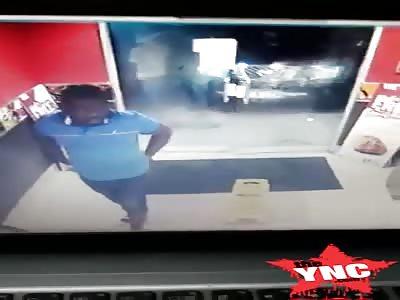 man assassinated at kfc