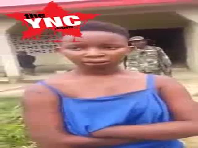 Teenage girl named Chidinma Iheoma caught with human head