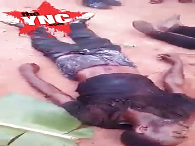 in Biafra 4 killed by Nigerian army