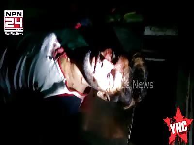gangster shot dead in Bombay.