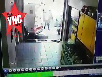 cash-in-transit heist attempt in SOUTH AFRICA