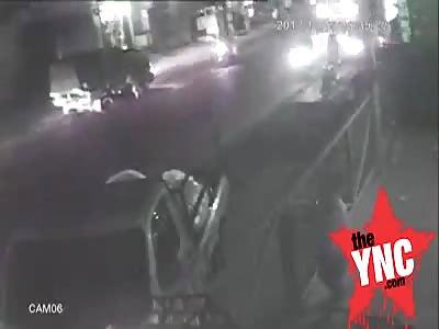 pick up crash in Indonesia
