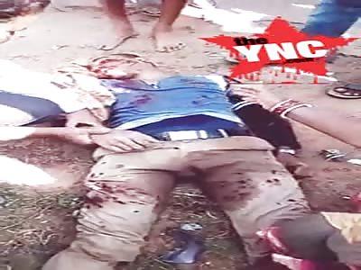man dead from a bike accident  in Kalipada-Baliapal Rd