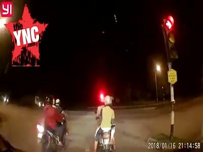bike accident in Malaysia