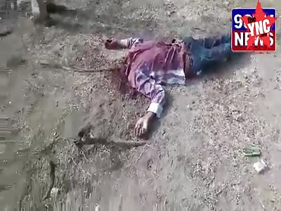 tractor driver beheaded in Nalgonda district